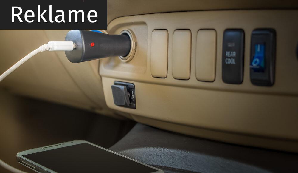 tilbehør til bilen